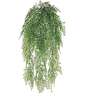 "24"" Maidenhair Fern Hanging Bush Greenery Wedding Flowers Home Decor 1"