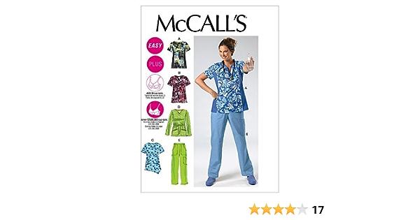 CM3 McCalls Sewing Pattern 3184 Ladies Misses Wrap Tops Size MD-LRG 12-18 Uncut