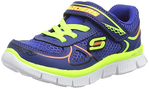 SkechersFlex Advantage Mini Race - Zapatillas de running para chico Azul  (Royal Yellow)