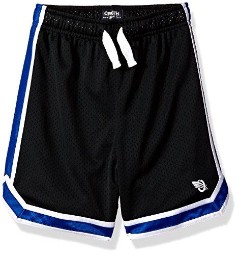 OshKosh B'Gosh Boys' Knit Short 21945212, Black 5T - Oshkosh Boys Shorts