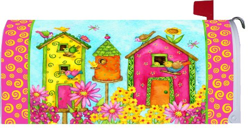 BRIGHT BIRDHOUSES Mailbox Makeover Magnetic