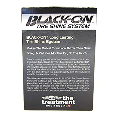 The Treatment 42000 Black Tire Shine Systems, 4. Fluid_Ounces: Automotive