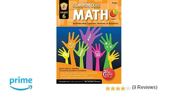 Amazon.com: Common Core Math Grade 6 (9781629502359): Marjorie ...