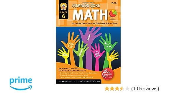 Amazoncom Common Core Math Grade 6 Activities That Captivate