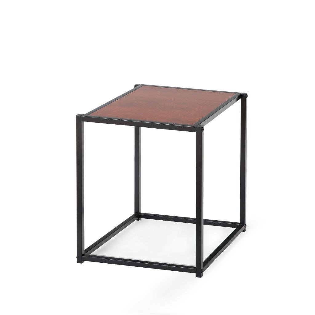 amazoncom zinus modern studio collection classic cube side table  - amazoncom zinus modern studio collection classic cube side table  endtable  night stand  coffee table kitchen  dining