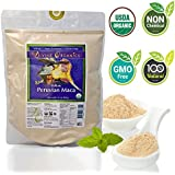 Divine Organics 2 Lb / 32 Ounce - Raw Peruvian Maca Powder - Certified Organic - Vegan, Antioxidant, Gluten Free - Mix in Coffee, Chocolate, Smoothies, Cereals - Yellow Peruvian Maca Root