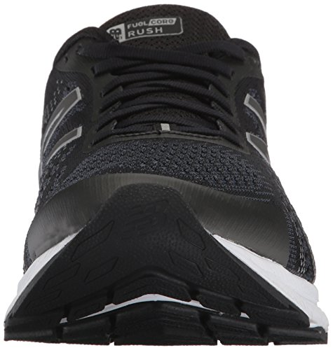 New Balance Mens Mrushv3 Fitness Shoes, Black (Black/Thunder), 10.5 2E UK
