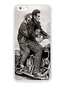 Personalize offerings James Dean and Marilyn Monroe White Protective Cover Case For iPhone 6plus 5.5 Inch