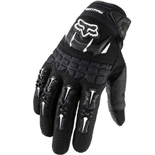 Fox Racing Dirtpaw Men's Off-Road/Dirt Bike Motorcycle Gloves - Color: Black, Size: Large ()