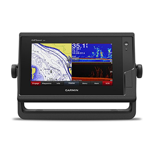 Garmin GPSMAP 742xs, ClearVu and Traditional Chirp Sonar with Mapping, 7'', 010-01738-03 by Garmin
