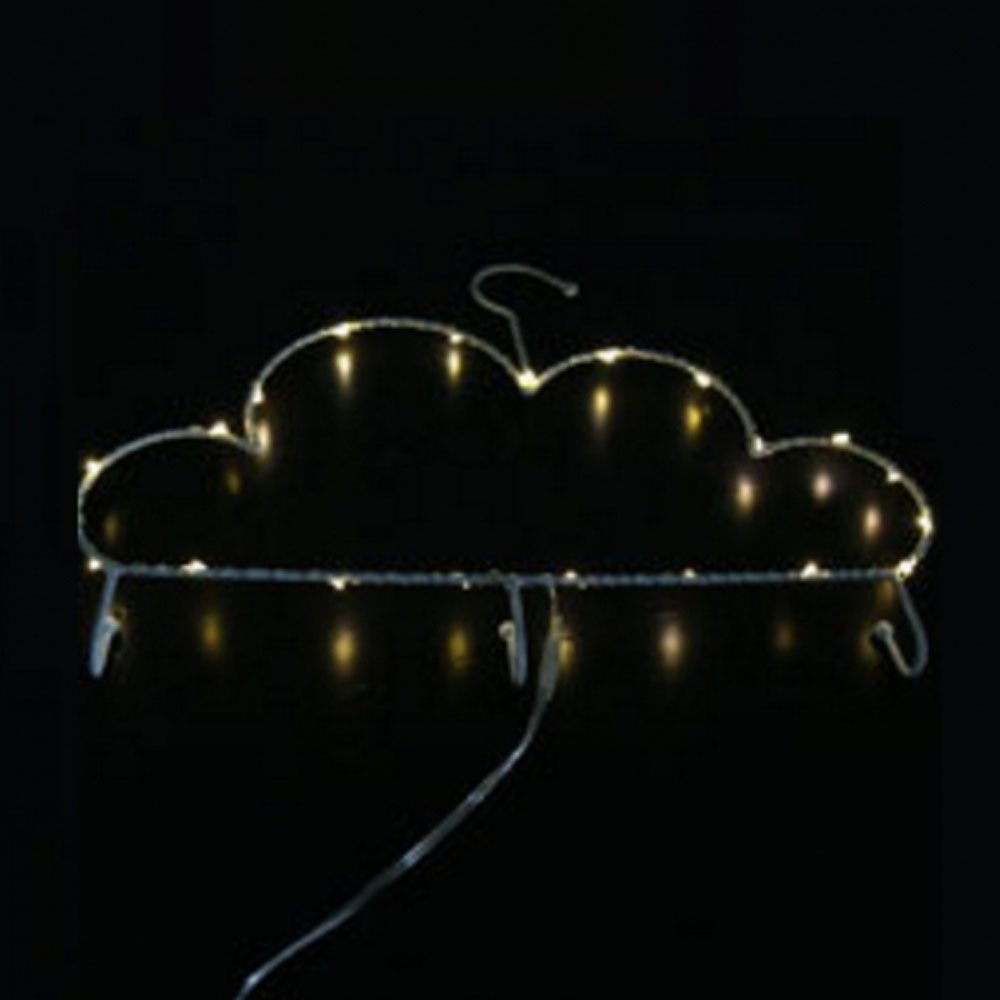 MyEasyShopping Party Decoration Window Picture 3D LED Table Night Light Cloud Rack