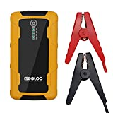 GOOLOO 600A Peak Car Jump Starter Portable Phone Power Bank (Up to 6.0L Gas or 4.5L Diesel Engine)Auto Battery Charger Pack Booster with Dual Quick Charge Output, Built in LED Light, Black/Yellow