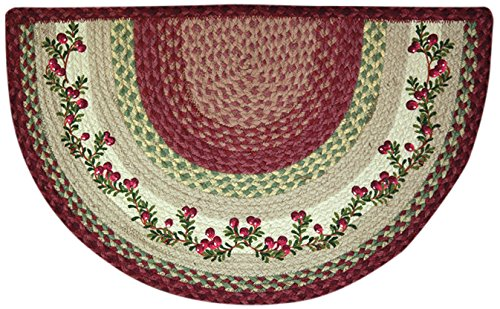 EarthRugs 32-390 Cranberries Slice Rug, 18-Inch by 29-Inch,