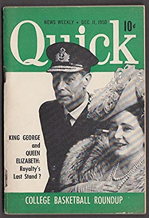 QUICK 12/11 1950 King George