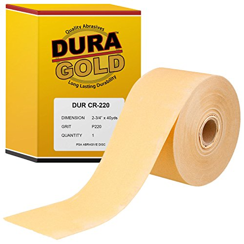 Extra Long 40 Yard Double Roll - Dura-Gold 220 Grit 2-3/4