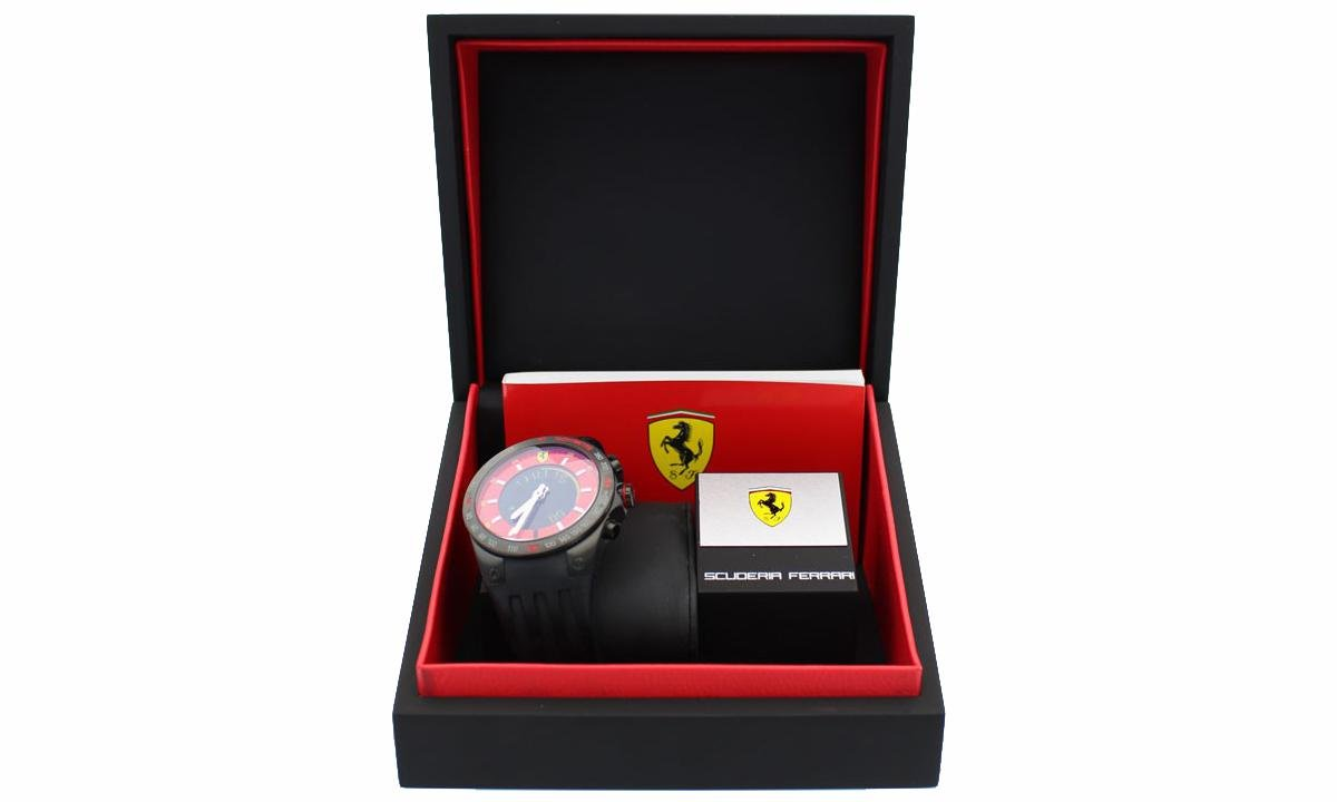 Scuderia Ferrari Fan Herren Uhr Digitaluhr Armbanduhr - 270012975