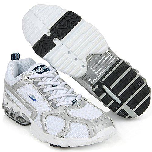 Nya Sporter Mode Sneakers Mens Kör Walking Tränare Sportskor Vita