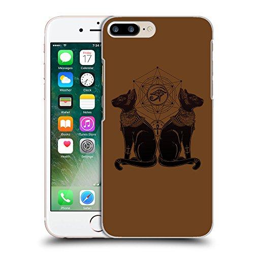 GoGoMobile Coque de Protection TPU Silicone Case pour // Q08060633 Chat égyptien 1 Sépia // Apple iPhone 7 PLUS