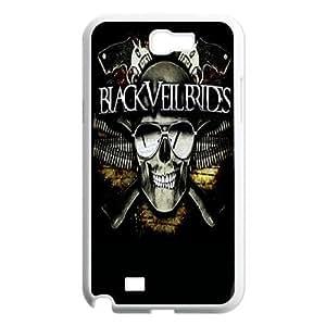 Samsung Galaxy Note 2 N7100 Phone Case Black Veil Brides G877768594 wangjiang maoyi by lolosakes