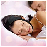 Anti Snoring CPAP Chin Strap - Unisex Premium Snore Stopper Guard for a Natural Snore Relief - No Snore Mask - Adjustable Snoring Sleep Aid for Men and Women! Snoring Solution