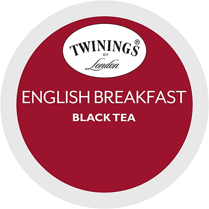 Twinings of London English Breakfast Tea K-Cups for Keurig, 56 Count
