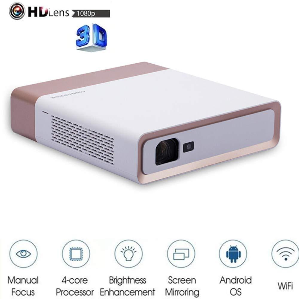 Proyector de vídeo 3D, 800 LM luminosa LED fuente de película ...