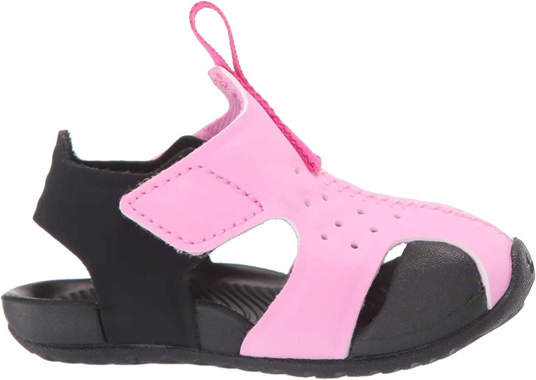 Nike Sunray Protect 2 (TD), Zapatos de Playa y Piscina para Niños, Multicolor (Psychic Pink/Laser Fuchsia/Black 602), 26 EU