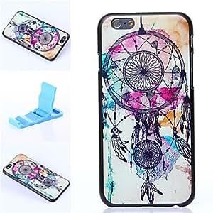 YULIN patrón colgante de plástico duro cubierta de lujo para el iphone 6