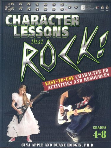 Character Lessons That Rock: Grades 4-8 ebook