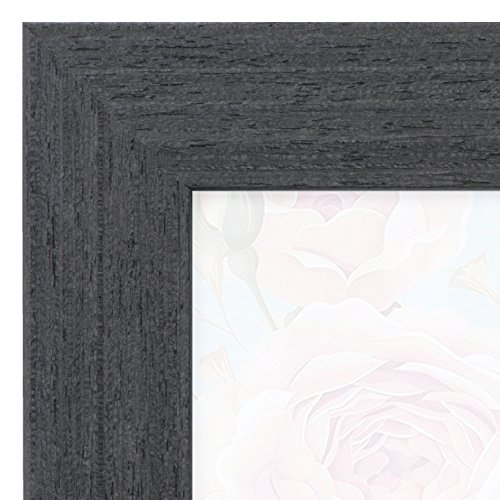 11x17 Picture Frame Black Barnwood - Poster Frames by EcoHome