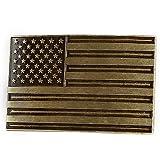 NPET USA Flag Belt Buckle for Men and Women (Fit 1.5
