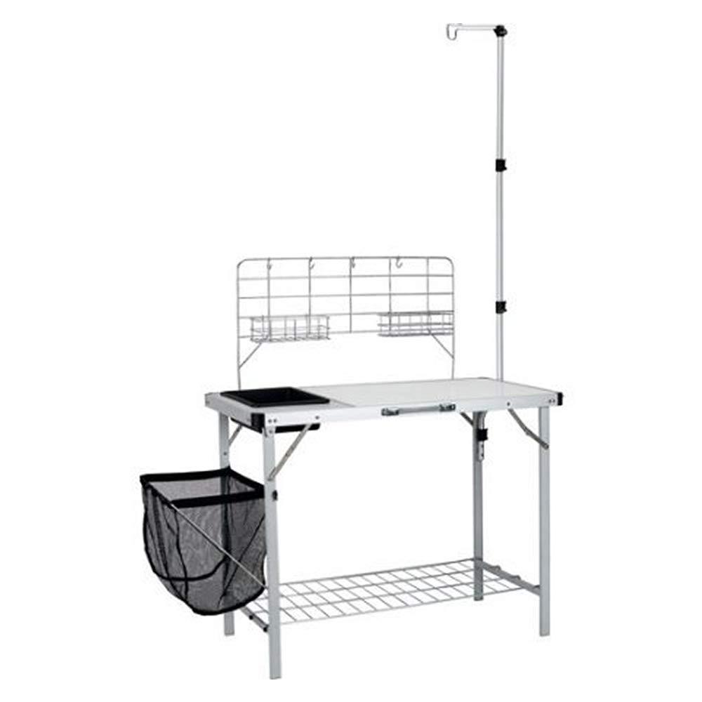 Amazon.com: Selva Portable Camp Kitchen Sink Table Serving ...