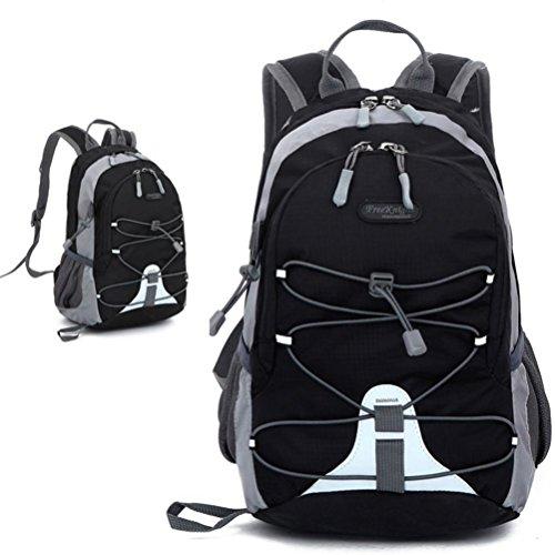 SUPPION Outdoor Ultralight Nylon Backpack, Hiking School Water Resistance Bags - Rucksack Man Iron
