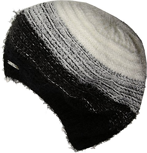 Calvin Klein Women's Ombre Eyelash Beret Black One Size