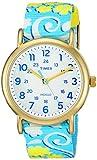 Timex Women's Weekender Reversible Floral |Blue| Casual Watch TW2P90100
