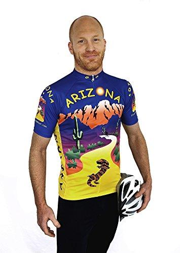 Free Spirit Wear Arizona Cycling Jersey 3XLarge