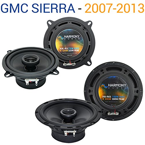 Fits GMC Sierra 2007-2013 Factory Speaker Replacement Harmony R65 R5 Package New ()
