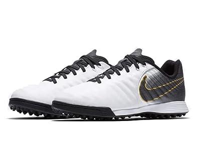 reputable site e01e8 397b0 Nike JR Legend 7 Academy TF, Chaussures de Futsal Mixte Adulte, Blanc Noir