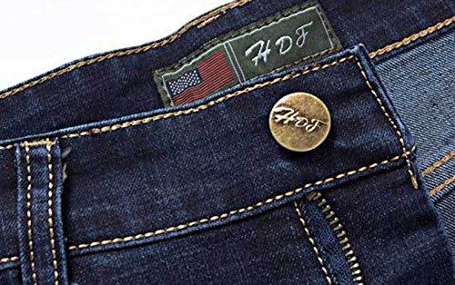 Icegrey Herren Straight Leg Jeans 5 Pocket mit Stretchanteil