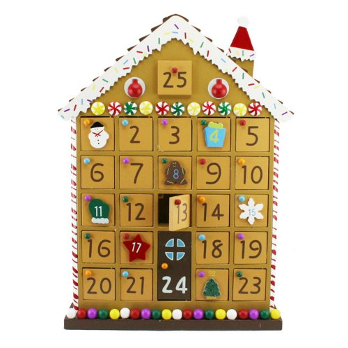 Gisela Graham Gingerbread House Advent Calendar Heaven Sends 30892