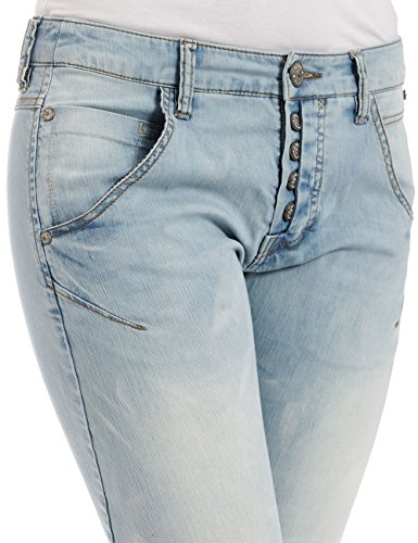 Timezone Damen Jeanshose Rivatz 3010 Light Blue Blau (Light Blue 3010) XNTPz