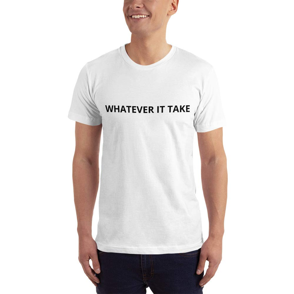 Short-Sleeve T-Shirt White Contra Average Whatever IT Takes
