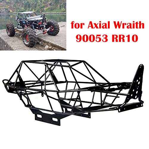 Crawler Chassis - Metal Steel Frame Body Roll Cage For 1/10 RC Crawler Axial Wraith AX90053 RR10