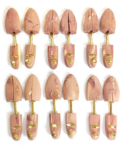 Cedar Elements Little Wholesale Program - Split-Toe Cedar Shoe Trees - 6 Pairs (L)