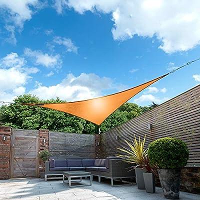 Kookaburra Toldo Vela de Sombra Para Jardín - Impermeable - 3m ...