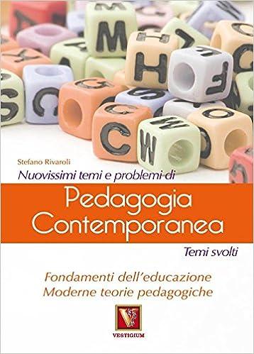Book Nuovissimi temi e problemi di pedagogia contemporanea.