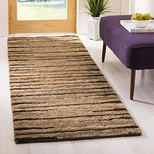Safavieh Organica Collection ORG211A Hand-Knotted Natural Wool Runner (2'6