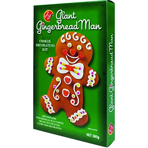 Create-a-treat Giant Gingerbread Man Cookie Kit (Giant Cookie Gift)