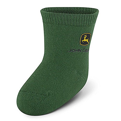 12-24M Deere Green Infant Sock