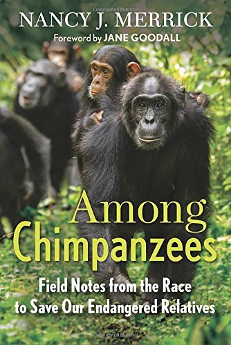 Read Online By Nancy J. Merrick Among Chimpanzees: Field Notes from the Race to Save Our Endangered Relatives [Hardcover] pdf epub